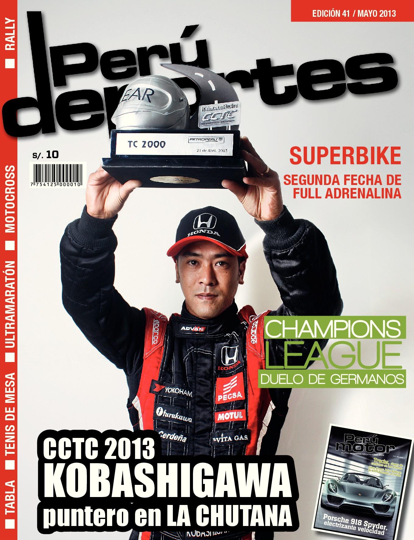 Perudeportes Edición #41 (May 2013)