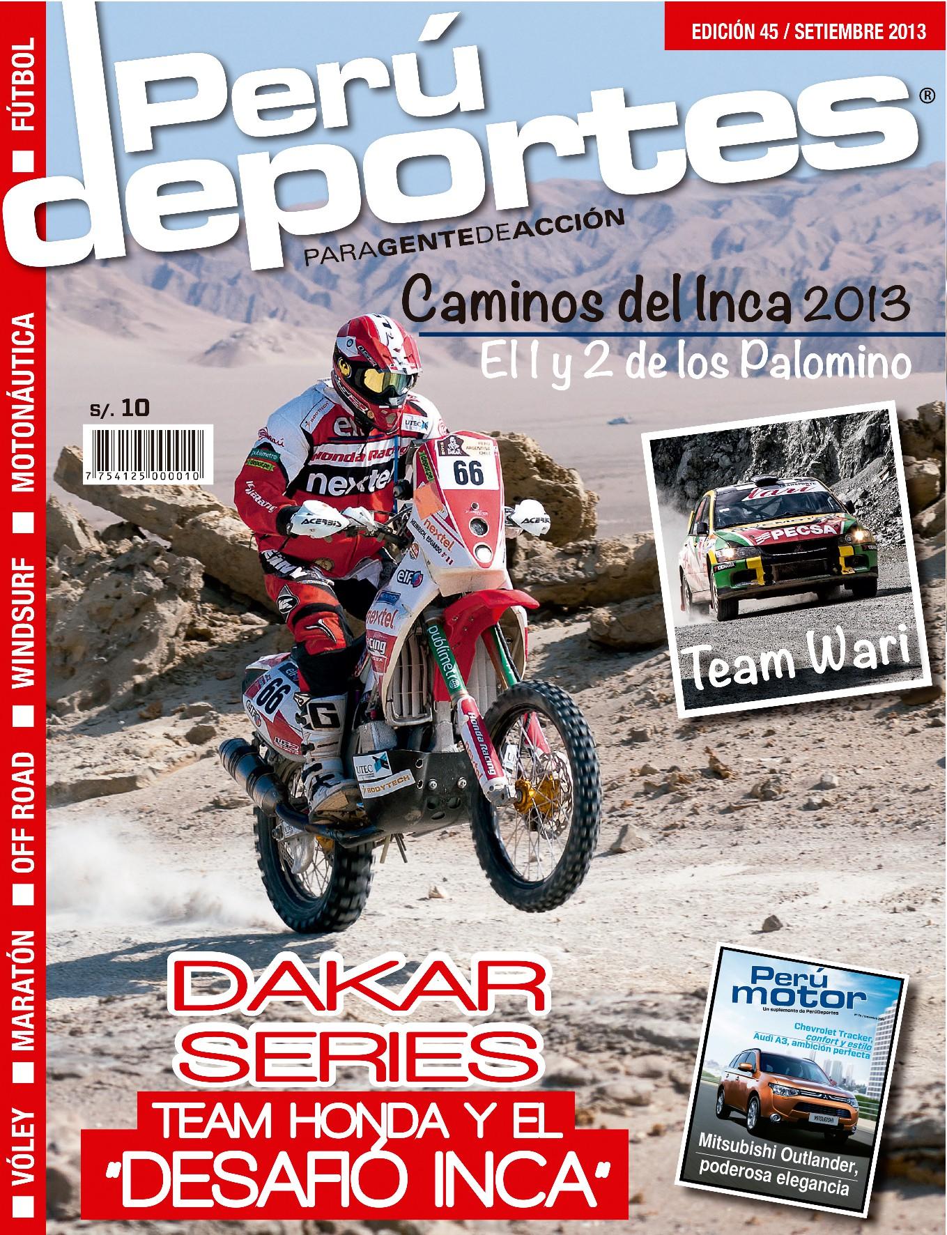 Perudeportes Edición #45 (Sep 2013)