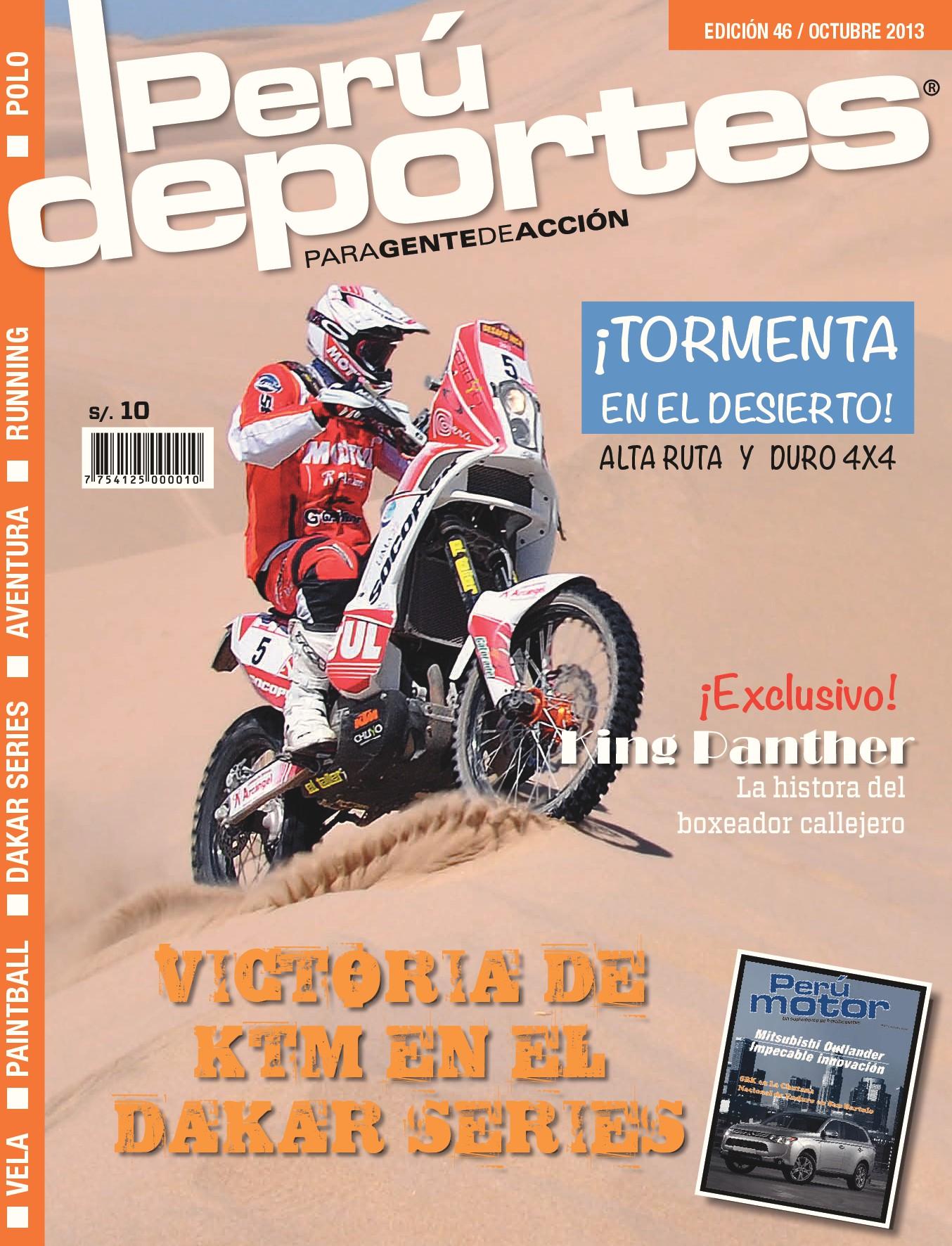 Perudeportes Edición #46 (Oct 2013)