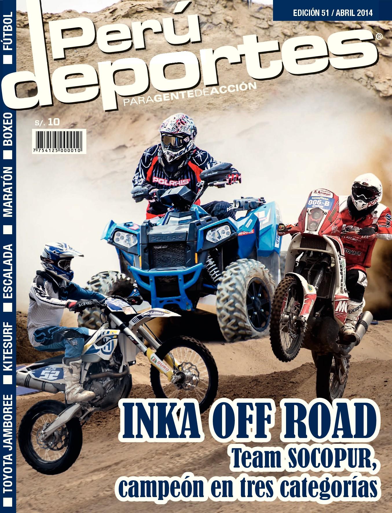Perudeportes Edición #51 (Jun 2014)